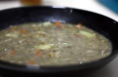 receta de lentejas